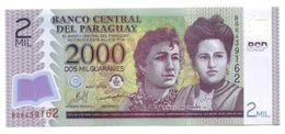 Paraguay - 2.000 Guaranies 2009 - Paraguay