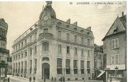 G23 / REPRO CPA AUXERRE HOTEL DES POSTES  / NEUVE - Auxerre