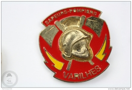 Sapeurs Pompiers Varilhes - Fireman/ Firefigter - Pin Badge #PLS - Bomberos