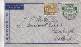 Indes Néerlandaises - Lettre De 1936 - Oblit Bandoeng - Exp Vers Edinburgh En Ecosse - Nederlands-Indië