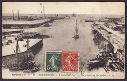DUNKERQUE  -  L´Entrée Du Port  -  (1920) - Dunkerque