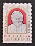 VISITE DE SA SAINTETE LE PAPE JEAN-PAUL II 1983 - NEUF ** - YT 1580 - MI 1749 - 1945-.... 2ème République