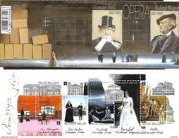 Belg. 2013 - COB N° 4335 à 4339 ** - Opéra  (Verdi - Wagner) Carnet N° 139 - Booklets 1953-....