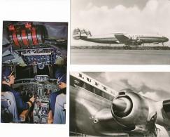 10 Neue Ansichtskarten Lufthansa, Lockheed - Super G Constellation - 1946-....: Era Moderna