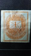 ULTRA RARE 1 MAGYAR KIE POST IMPERFORATED CLEAR UNUSED/MINT STAMP TIMBRE - Hungary