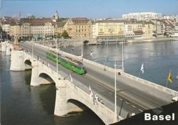 BASEL     STRASSENBAHN  TRAM - BS Basle-Town