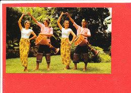 BANGKOK Cp Animée Long Drum Dance                       Ch 48 Edit  Filta - Thaïlande