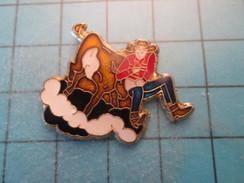 Pin1115a Pin's Pins : Rare Et Belle Qualité SPORTS / AUTRES VEAU VACHE RODEO COW-BOY - Pin