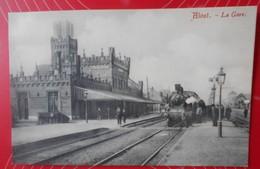 Alost (Aalst) – La Gare---Vve Cornélis (circa 1909)--Non écrite/Niet Geschreven - Aalst