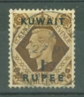 Kuwait: 1948/49   KGVI    SG71    1R On 1/-      Used - Koweït
