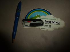 Carton Publicitaire (ou Marque-page)  Eternisez Vos Souvenirs FURA 110xa  12 Ou 20 Photos Format 110 , Indo - Advertising
