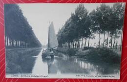 Alost (Aalst) – Le Chemin De Halage (Tragel)---Vve Cornélis (1909)—Non écrite/Niet Geschreven - Aalst
