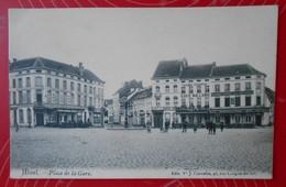 Alost (Aalst) – Place De La Gare---Vve Cornelis (1909)—Non écrite/Niet Geschreven - Aalst