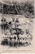 N'DORO ( HAUT-OGOOUE ) CHEF DE VILLAGE CHAKE ET SA FAMILLE - Congo Français - Autres