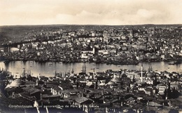 Turkije  Istanboel  Constantinople  Vue Panoramique De Péra Et De Galate            I 37 - Türkei