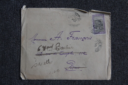 Enveloppe Timbrée Avec Lettre Envoyée De FIANARANTSOA ( Madagascar) à SARCELLES. - Madagaskar (1889-1960)
