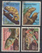 °°° BURKINA FASO - Y&T N°662/65 - 1985 °°° - Burkina Faso (1984-...)