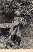 """Cpa Ethnique 1930,  Gracieuse Fillette Congolaise Avec Un """"gai Sourire""""  (39.53) - Enfants"""