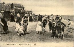 14 - LUC-SUR-MER - Plage - Jeux De Plage - Luc Sur Mer