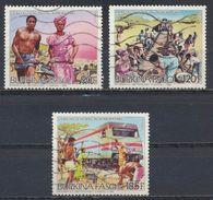 °°° BURKINA FASO - Y&T N°690/92 - 1986 °°° - Burkina Faso (1984-...)