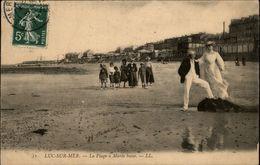 14 - LUC-SUR-MER - Plage - Croquet - Luc Sur Mer
