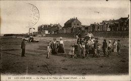 14 - LUC-SUR-MER - Plage  Du Grand Orient- Digue - Luc Sur Mer
