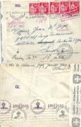 Kriegsgefangenen Brief  Bretagne - Interniertencamp Oberuzwil - Prison St.Gallen            1940 - Svizzera