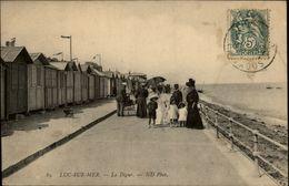14 - LUC-SUR-MER - Plage - Digue - - Luc Sur Mer