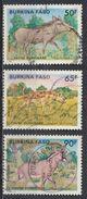 °°° BURKINA FASO - Y&T N°710/12 - 1986 °°° - Burkina Faso (1984-...)