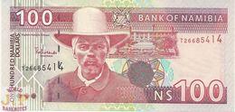 NAMIBIA 100 DOLLARS 2003 PICK 9A UNC - Namibie