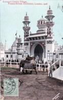 England - LONDON  - Entrance Ceylon Village - Franco British Exhibition 1908 - London