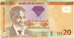 NAMIBIA 20 DOLLARS 2011 PICK 12a UNC - Namibie