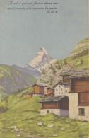 Suisse - Zermatt Matterhorn - Illustration - VS Valais