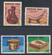 °°° BURKINA FASO - Y&T N°781/83/84/85 - 1988 °°° - Burkina Faso (1984-...)