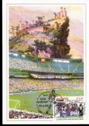 Cartolina Con Annullo Abruzzofil Raffigurante Calciatore San Marino Con Serie Campionati Del Mondo Italia Nigeria 2-1 - Calcio