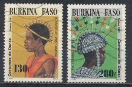 °°° BURKINA FASO - Y&T N°844/45 - 1991 °°° - Burkina Faso (1984-...)