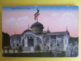 Libau ;  Kaiser Pavillon ; Cachet Militaire - Lettonie