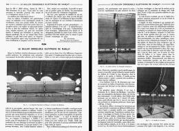 LE BALLON DIRIGEABLE KLUYTMANS De MARCAY   1908 - Transports