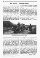"""UNE NOUVELLE  """" MACHINE MARCHANTE  """" 1908 - Transports"""