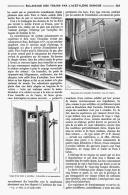 L'ECLAIRAGE Des TRAINS  Par L'ACETYLENE DISSOUS   1908 - Chemin De Fer