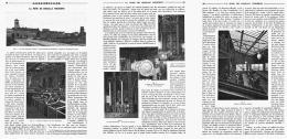 """LA MINE DE HOUILLE MODERNE  """" LA FOSSE D'AREMBERG à ANZIN """"  1908 - Picardie - Nord-Pas-de-Calais"""