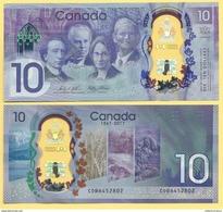 Canada 10 Dollars P-new 2017 Commemorative UNC - Canada