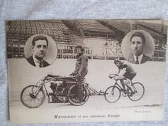 Maronnier Et Son Entraineur Sauge - Cycling