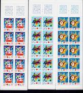 FRANCE 12 Carnets CROIX ROUGE 1990 à 2001 ** Non Pliés Voir 4 Images - Libretas