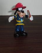 Figurine Dingo En Pompier - Disney - Disney