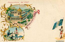 NICARAGUA(EXPOSITION PARIS 1900) - Nicaragua
