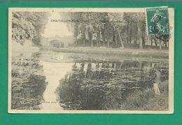 CPA LOIRET 5/210 – CHÂTILLON-SUR-LOIRE, Le Pont Mantelot, Côté Ouest - Chatillon Sur Loire