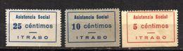 Viñetas Nº 4/6  Asistencia Social  Itrabo. - Vignettes De La Guerre Civile
