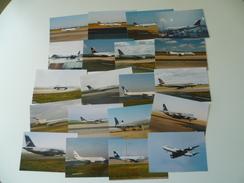LOT DE 100 PHOTOS THEMES AVION MODERNE - Aviation