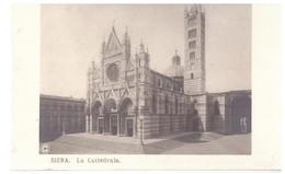 Cartolina Siena La Cattedrale - Unclassified